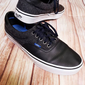 Vans Old Skool Leather Skateboard Shoes